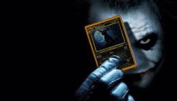 joker with card