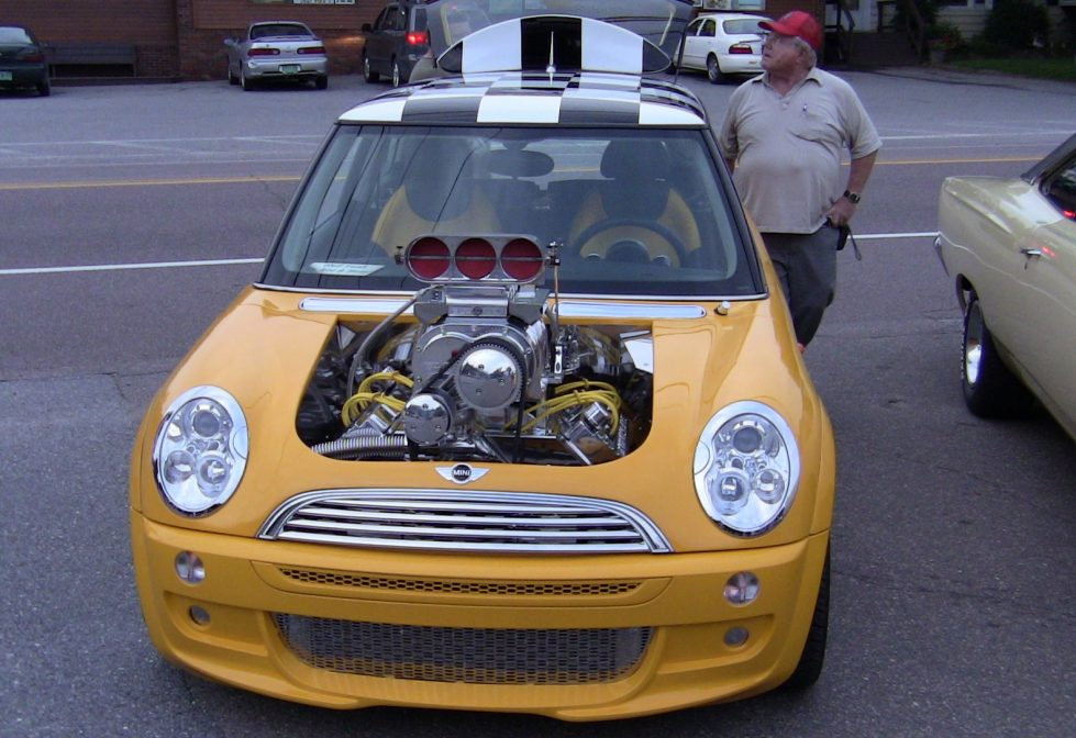 mini with big engine
