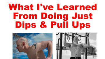 What I learned from doing dips and pull up