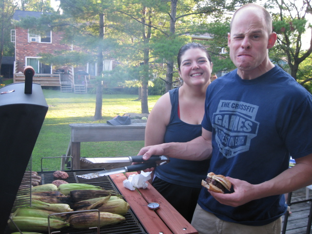 matt and nicki grill