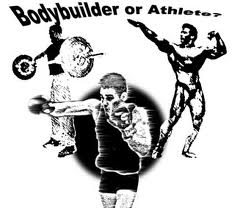 Body builder or athlete?