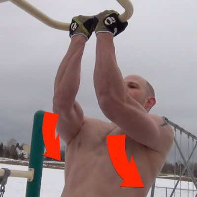 elbow pain pull up2