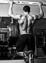 pull up back muscles