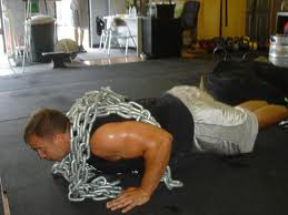 loaded push ups