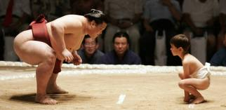 sumo wrestler boy