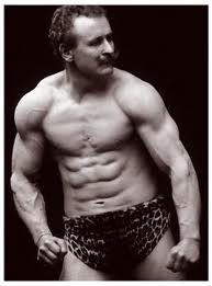 old school abs Eugene Sandow