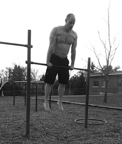 Matt Schifferle playground strait bar dips