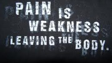 pain and weakness myth