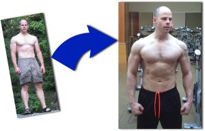 Triad Muscle revolution before and after pic
