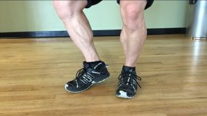 These calves didn't come from the training you see in most globo-gyms.