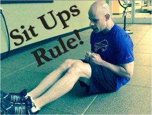 Sit Ups. Safe, effective and even therapeutic!