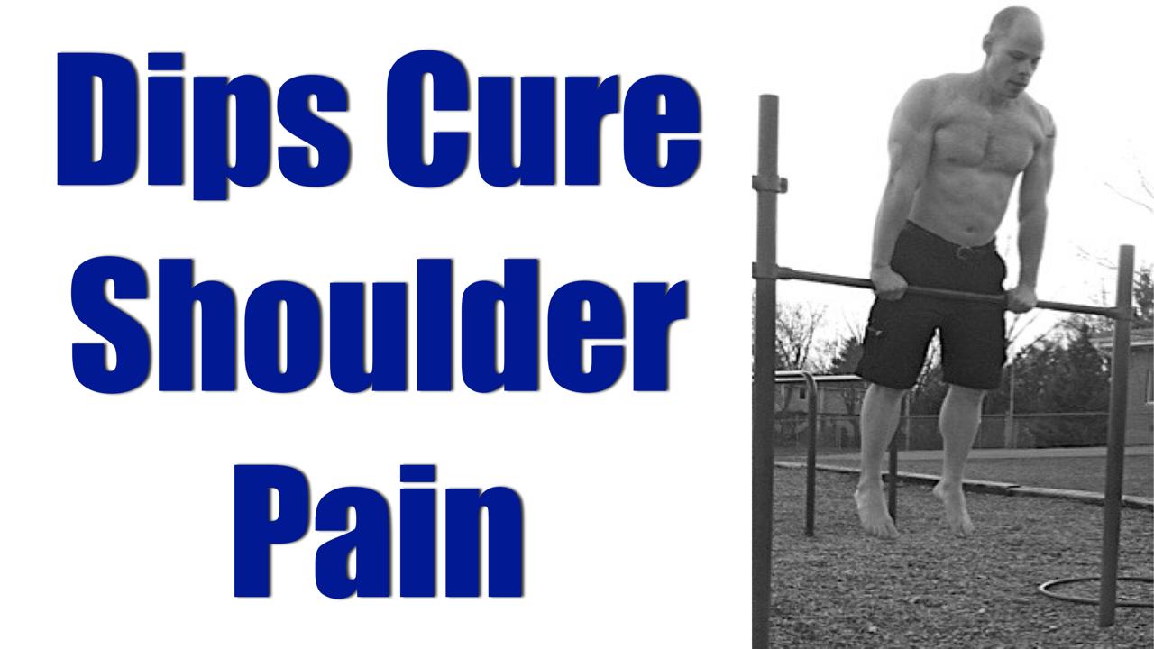 dips cure shoulder pain