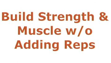 build muscle reps