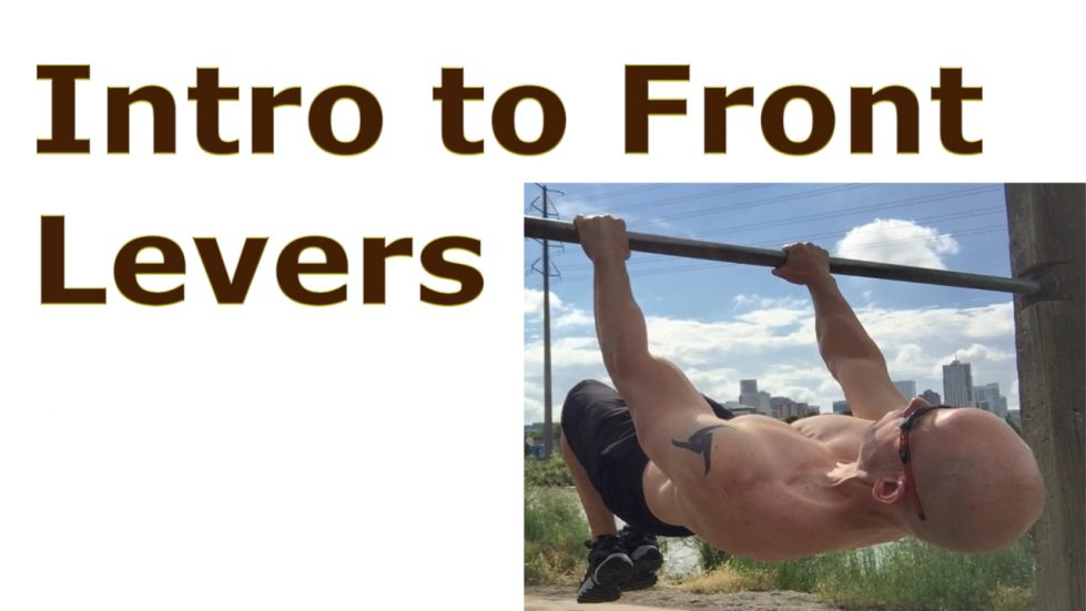 introduction to the front lever