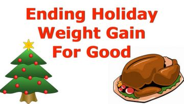 end holiday weight gain