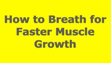 muscle building breath