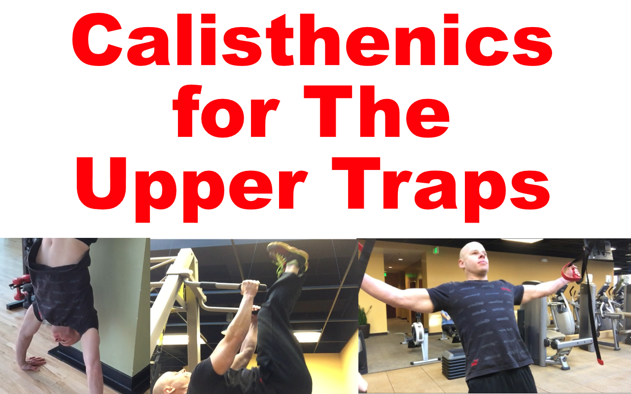 body weight upper trap exercises