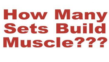 muscle building sets