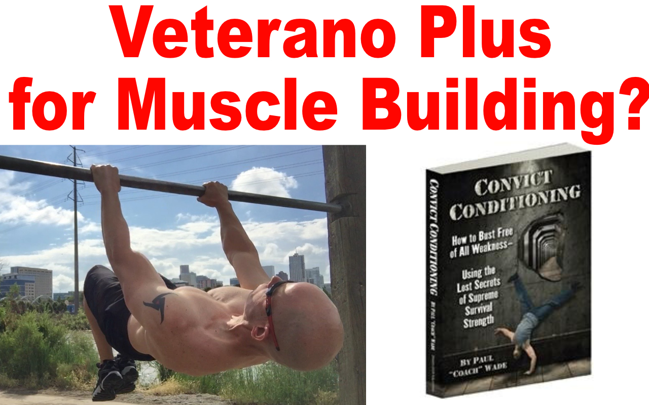 veterano plus muscle building workout