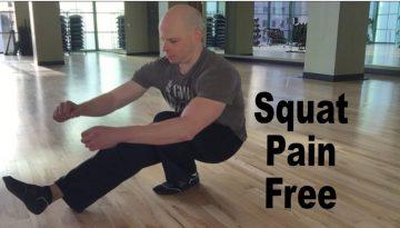 fix squat knee pain