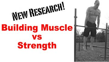 building muscle vs strength