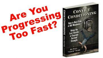 convict conditioning progression