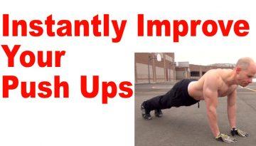 improve push ups