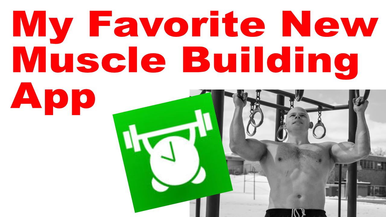 muscle building app
