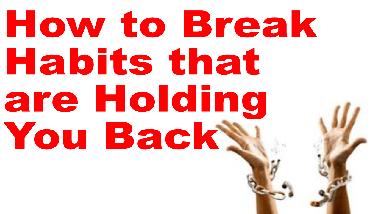 break bad fitness habits