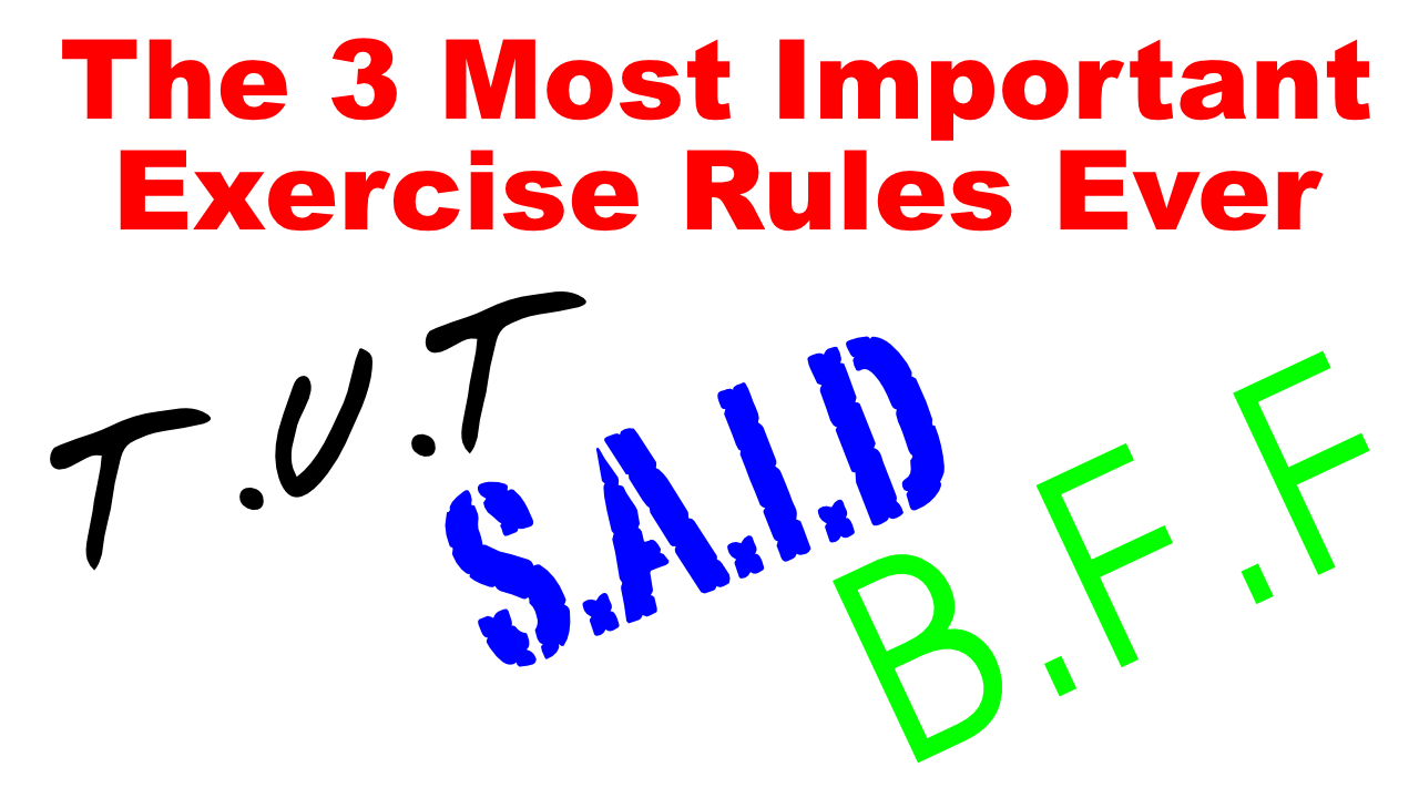 3 best fitness rules