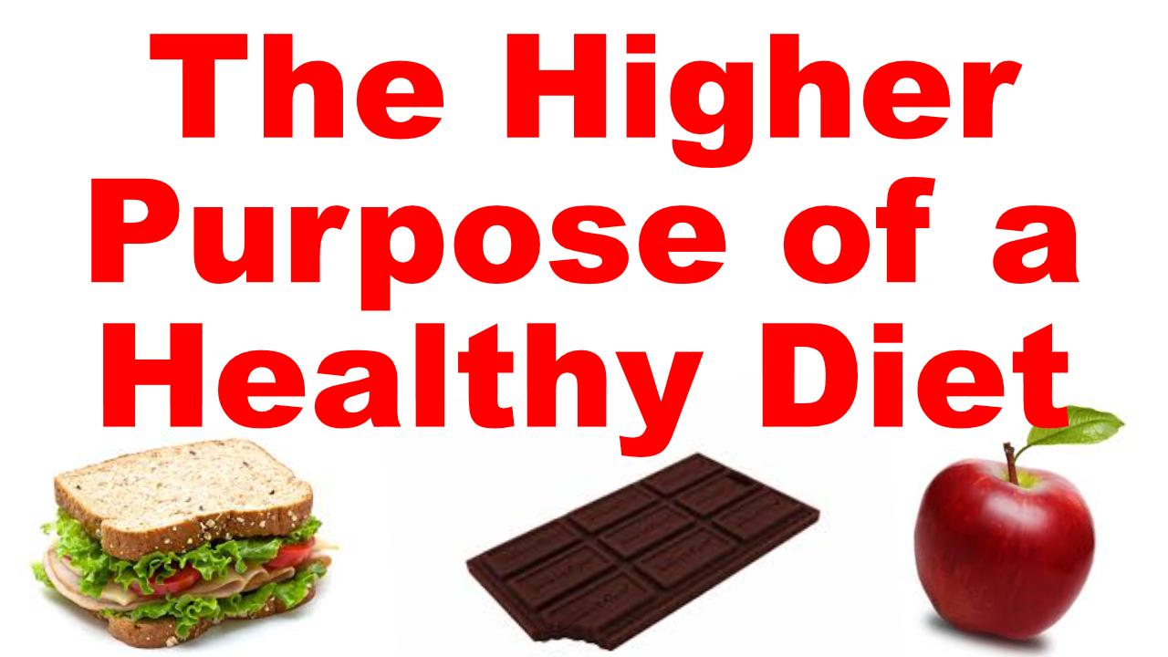 higher purpose diet