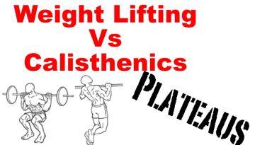 calisthenics weight lifting plateau