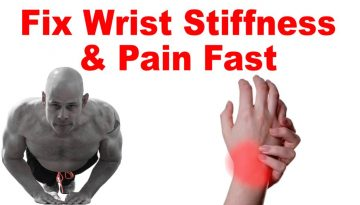 wrist pain stiffness push up