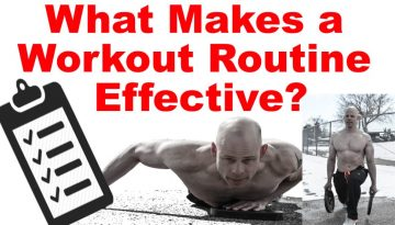 effective workout routine