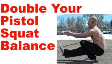 pistol squat balance