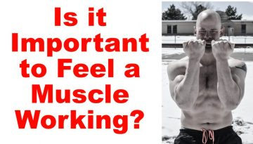 Feel a muscle working