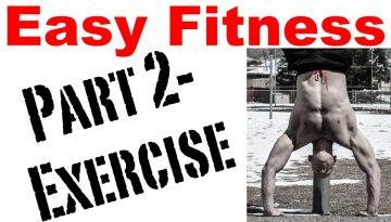 easy fitness exercise
