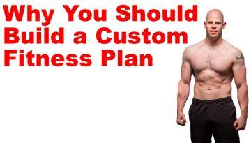 custom diet exercise plan
