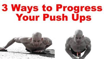 progress push ups