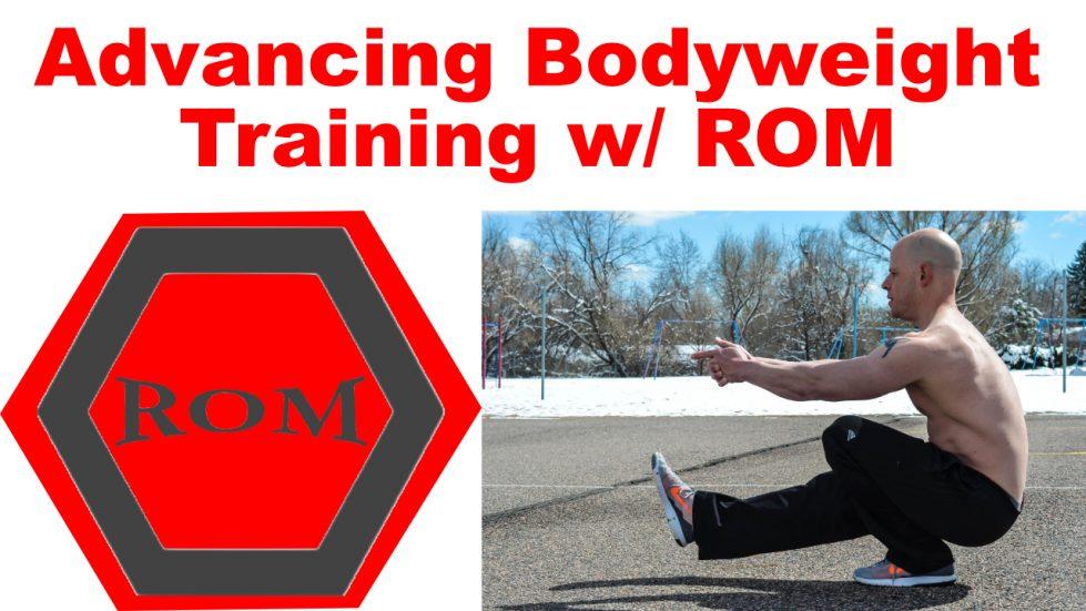bodyweight training range of motion
