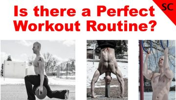 is there a perfect workout routine