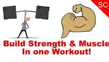 train for strength and size in one workout