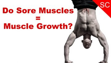 do sore muscles mean muscle growth?