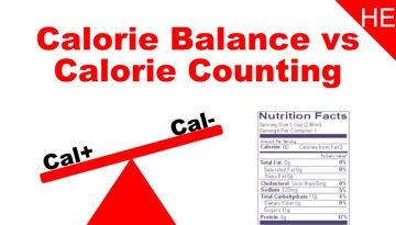 calorie balance vs calorie counting