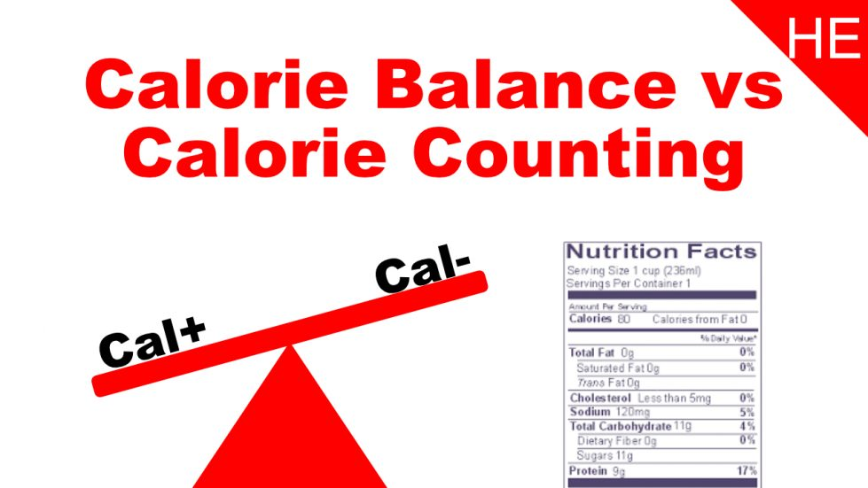 calorie balance vs calorie counting
