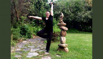 Adrienne Harvey free style workout