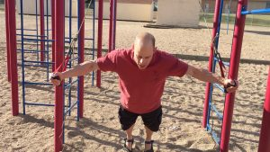 suspension trainer chest fly