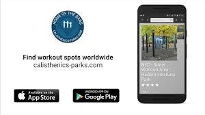 calisthenics parks app