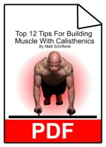 12 Tips For Building Muscle w/ Calisthenics
