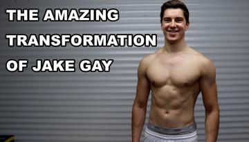JAKE GAY fitness transformation
